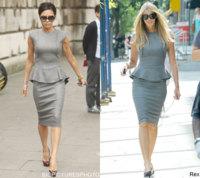 Vestido de Victoria Beckham: ¿Victoria o Elle?