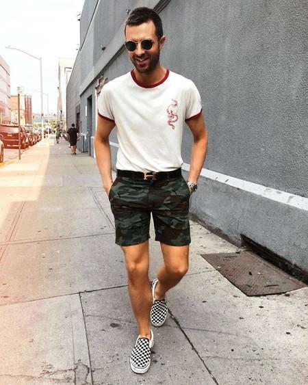 Blanco Y Camuflaje La Combinacion Para Obtene El Mejor Sreet Style De La Semana 05