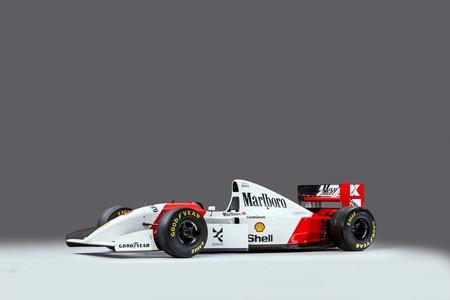El auto en el que Senna impuso su récord de victorias en el GP de Mónaco podría ser tuyo