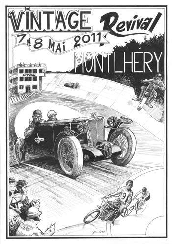 Montlhéry, uno de los circuitos más antiguos del mundo revivirá en 2011