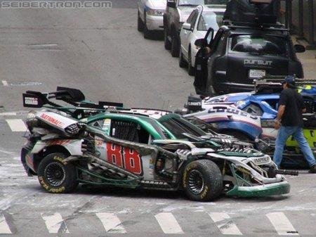 """NASCAR """"Death Race"""" en Transformers 3"""