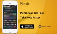 Neato es un widget para iOS con el que guardarás notas al vuelo