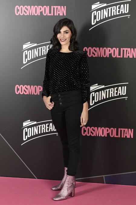 premios cosmopolitan 2017 alfombra roja look estilismo outfit Coco Davez