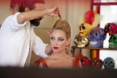 """El """"making of"""" del calendario Campari 2014, con Uma Thurman de protagonista"""