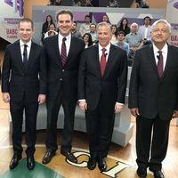 Con más de dos millones de mensajes en Twitter se vivió el segundo debate por la presidencia de México