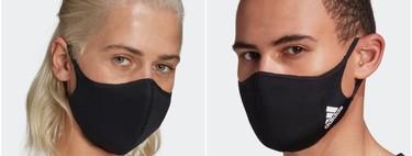 Adidas lanza sus mascarillas higiénicas: lavables, reutilizables y con su logo de las tres bandas