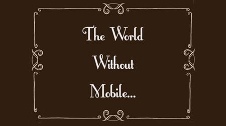 ¿Cómo sería una sociedad sin móviles? Qualcomm nos la muestra. La imagen de la semana