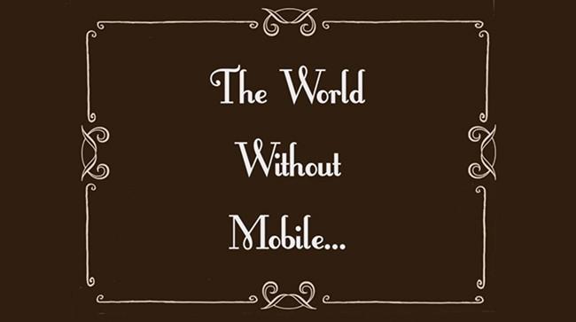 El mundo sin móviles