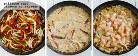 Pollo Jitomate Deshidratado Receta