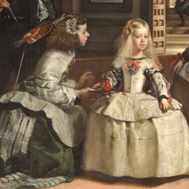 Ni para guardar agua ni perfume, este es el uso real que le daban a la vasija las meninas del cuadro de Velázquez