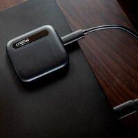 Amazon también tiene a precio mínimo el SSD portable Crucial X6 de 2TB: a 166,99 euros te ahorras casi 83 euros