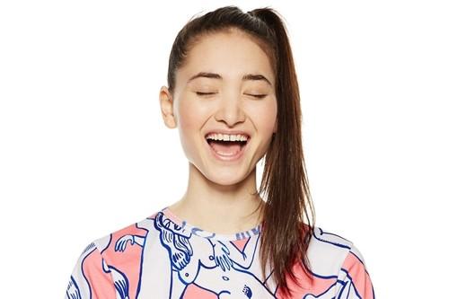 Así llevan Amaia Romero (y el mejor streetstyle) el outfit más atrevido de la colección de Miranda Makaroff para Desigual