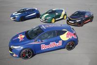 Renault Megane RS con los colores de guerra de la Fórmula 1