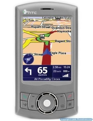 HTC P3300, con navegador GPS de TomTom