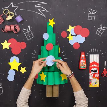 Manualidades de invierno (para hacer en familia y reciclando): 13 ideas