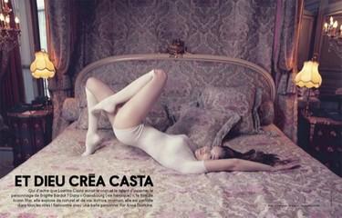 El renacer de Laetitia Casta: las curvas más sensuales
