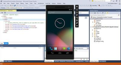 Emulador Android integrado en Visual Studio 2015