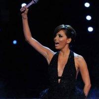 Los diferentes vestidos de Eva Longoria en la gala MTV 2010