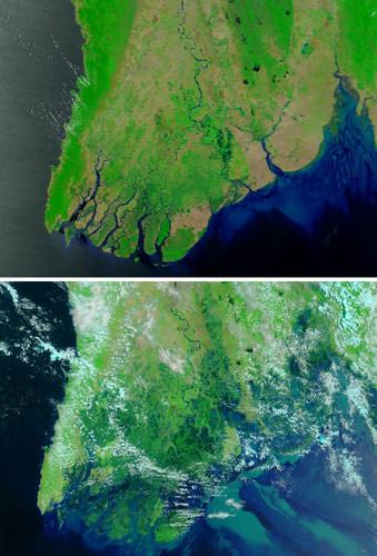Birmania : antes y después del ciclón Nargis