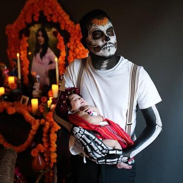 'Recuérdame': la historia detrás del emotivo altar de un padre y su bebé a la madre de la pequeña, inspirado en la película 'Coco'