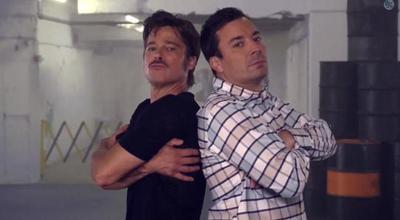 Por si alguien tenía dudas, Brad Pitt es un bailongo