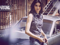 Así es la moda vaquera que viste Kendall Jenner para la marca asiática Penshoppe