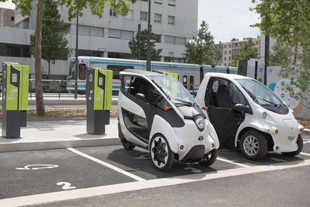 Grenoble Smart City Toyota i-Road