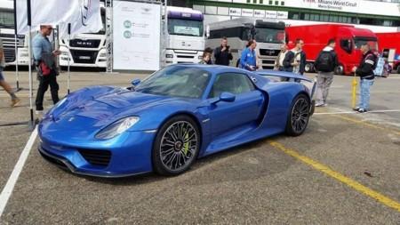 Porsche 918 Spyder Horacio Pagani