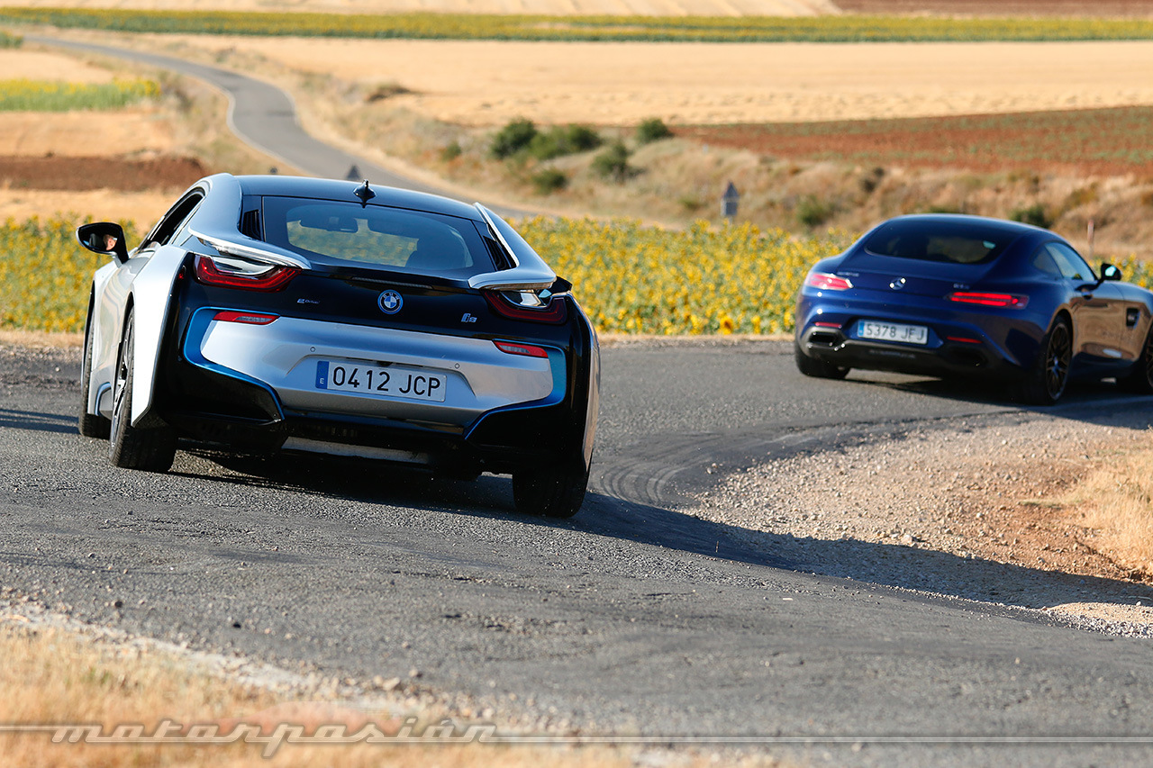 Foto De Comparativa Bmw I8 Vs Mercedes Benz Amg Gt S Fotos