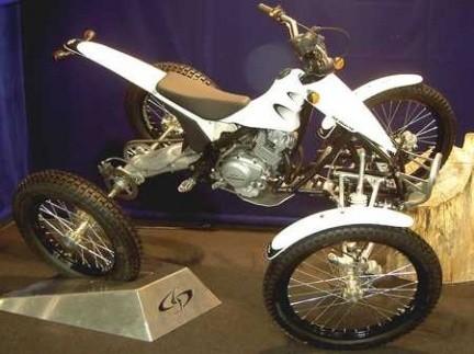 Scorpa y su Trial Quad Prototype