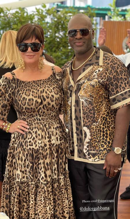 Kris Jenner Dolce Gabbana