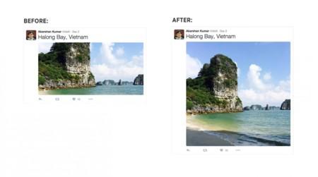 Twitter elimina el recorte automático de las fotos en el timeline