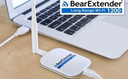 BearExtender 1200 y Turbo, adaptadores WiFi de alta potencia para Mac