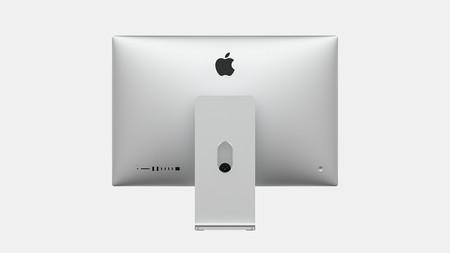Concepto iMac 2020 por detrás