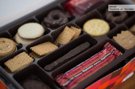 El cura y el surtido de galletas
