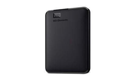 La mayor capacidad portable la tienes con el Western Digital Elements con 5 TB que Amazon te deja ahora por sólo 104,99 euros