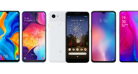 Google Pixel 3a y Google Pixel 3a XL, comparativa: así quedan contra su competencia en Android