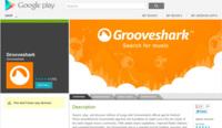 Grooveshark vuelve a Google Play después de que Google la expulsara hace más de un año