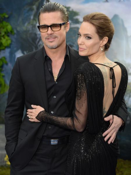 Angelina Jolie espalda Atelier Versace