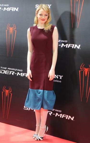 Emma Stone trae su Spider-Man a Madrid