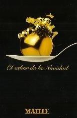 Recetario Maille Navidad 2005