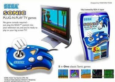 Consola multijuegos de Sega