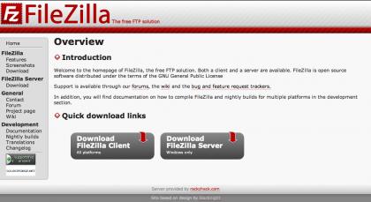 FileZilla 3.0, ahora también en Linux y MacOS