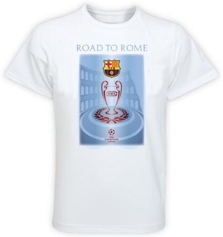 El Barça camino a Roma