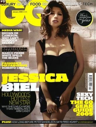 Jessica Biel sorprendente en GQ