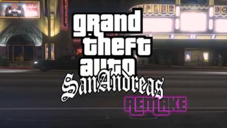 Usan el editor de GTA V para recrear el tráiler de San Andreas
