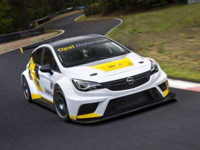 Opel Astra TCR: la versión de carreras, por fin al descubierto