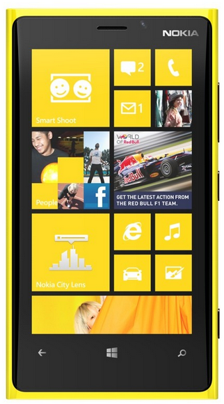 Lumia 920 Pantalla