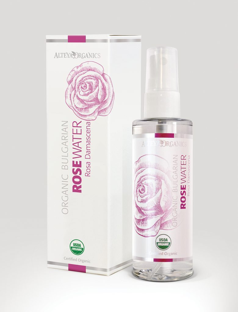 Rose Water Organic Bulgaria Alteya Organic
