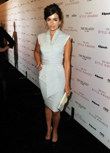 2010 Style Awards: Camilla Belle look